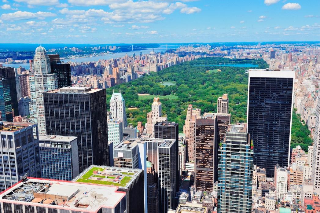 Central Park jsou plíce New Yorku
