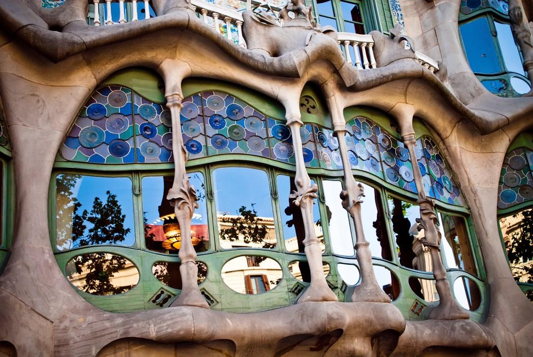 Gaudí a jeho umělecká díla v Barceloně