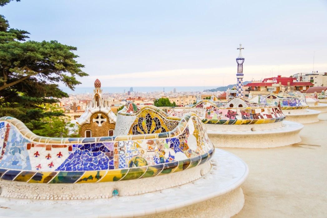 Barcelona: parku Güell je skvělým uměleckým dílem