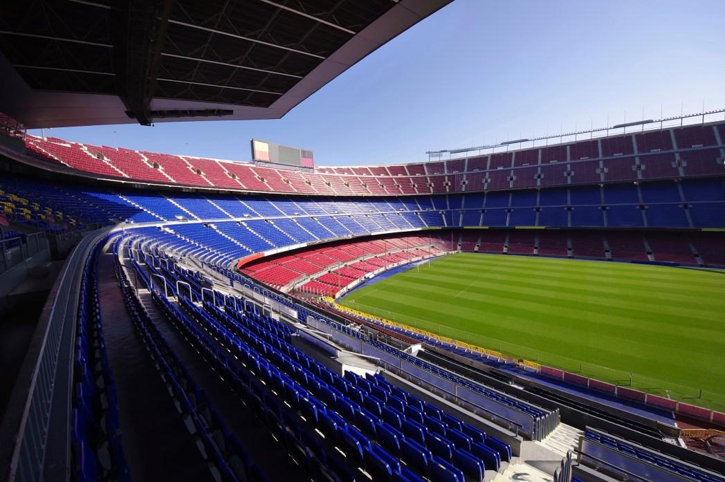 FC Barcelona a slavný fotbalový stadion Camp Nou