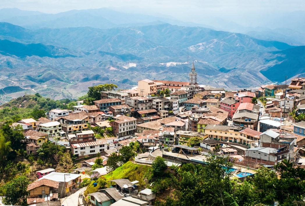 Méně navštěvovaný Ekvádor v Jižní Americe